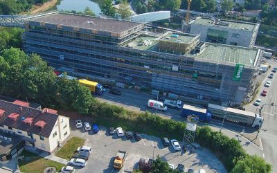 Rathausareal – Projekt Neue Mitte – in Remseck