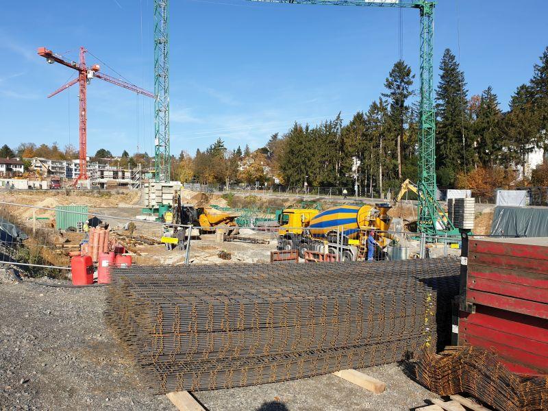 Neubau 8 MFH mit Tiefgaragen, Baufeld 5 auf dem ehemaligen Krankenhaus-Areal in Waiblingen