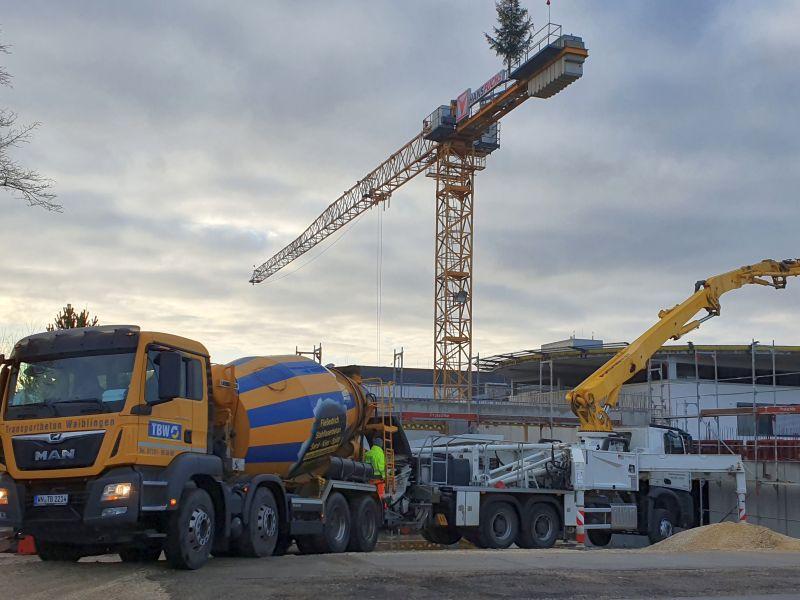 Neubau der Zentralen Notaufnahme des Stauferklinikums in Mutlangen