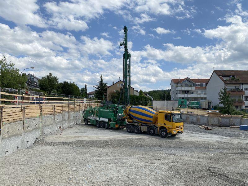 Neubau 37 WE in Schwaikheim